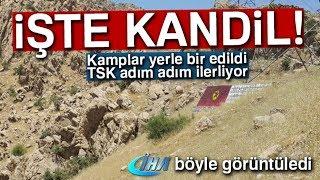 Kandil'in Girişi Görüntülendi: TSK Adım Adım İlerliyor!