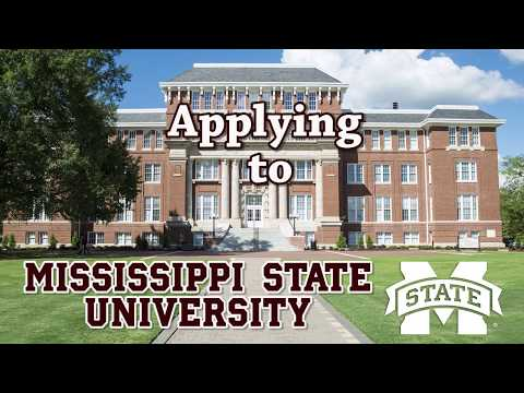 Applying to Mississippi State