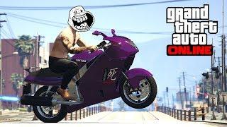 GTA 5 - 400+ KMH JUMP MOTO !! thumbnail