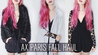 AX Paris Fall Haul Thumbnail