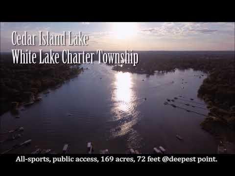 Cedar Island Lake White Lake Twp. MI
