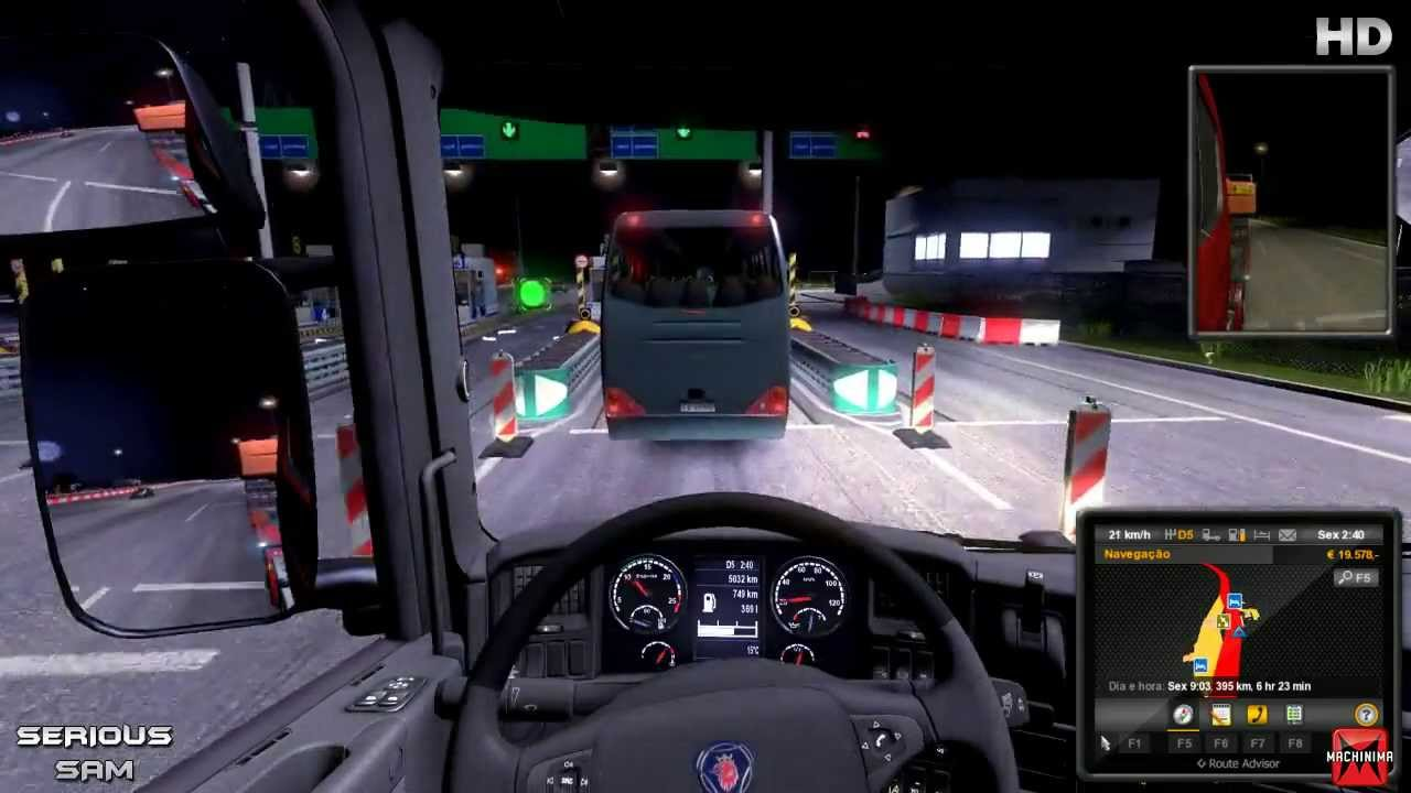 euro truck simulator 2 ps4 ordinateurs et logiciels. Black Bedroom Furniture Sets. Home Design Ideas