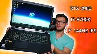 Potężny laptop za 13000zł - Hyperbook X77 RTX 2080 I7-9700K 144HZ