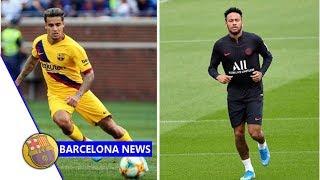 Barcelona hatch fresh neymar transfer plan after philippe coutinho move- news now