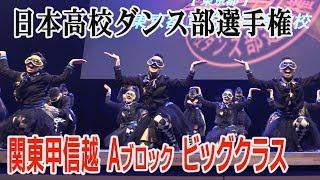 日本高校ダンス部選手権 関東甲信越Aブロック ビッグクラス 全国大会出場校 thumbnail