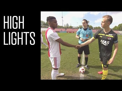 Highlights Ajax O19 - AZ O19