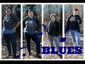 Plus Size  Winter Look Book // ♪ I've got the Casual Day BLUES ♫