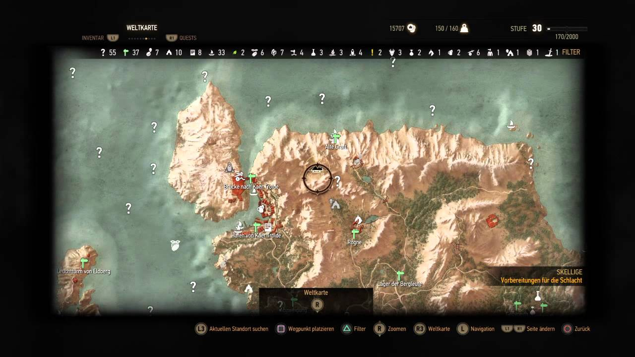 Witcher 3 frisuren novigrad