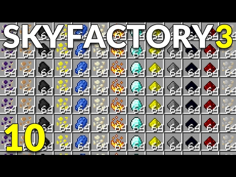 minecraft sky factory chickens