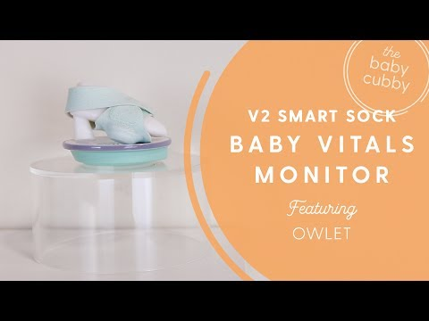 Owlet Baby Monitor: New V2 Smart Sock