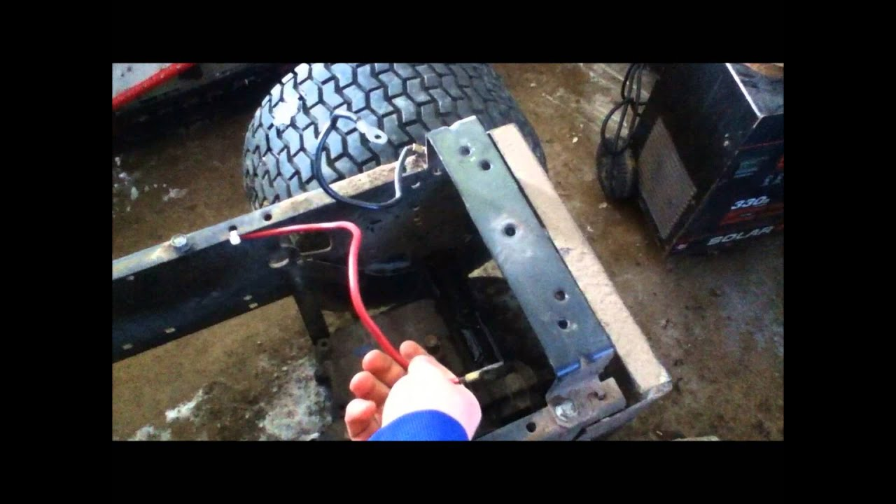 john deere 140 wiring harness diagram craftsman 6 rewire a lawn mower to push button start and  craftsman 6 rewire a lawn mower to push button start and