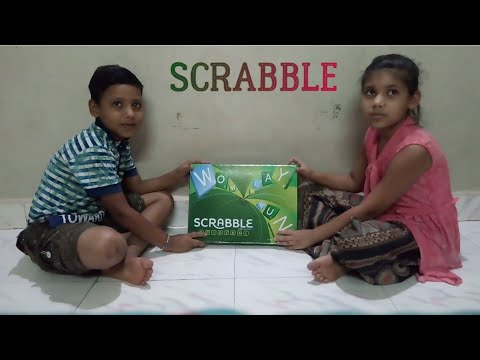 How To Play Scrabble ( Demo ) In Hindi - Vidhi Shah