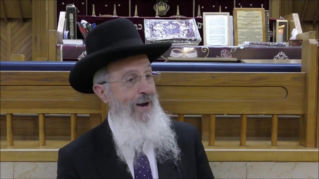 """הרב אברהם יוסף  דיני והלכות פורים תשע""""ט"""