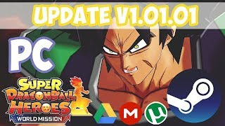 🚀Free Update V1.01.01🚀 SDBHeroes World Mission [Broly & Gogeta] + Crack Multiplayer | Quick Guide