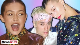 Gigi Hadid CLAPS BACK About Supporting Justin Bieber & Hailey Baldwin!