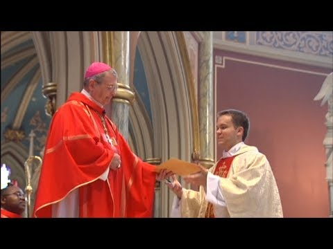 Priestly Ordination of Jason Adams at the Cathedral of St. John the Baptist, Savannah