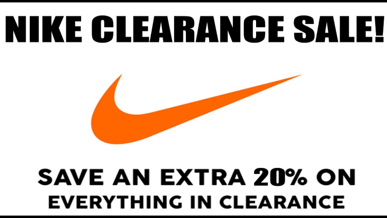 bb624caaa6d78e Nike Clearance Sale! Extra 20% Off w Code! (My Top Deals) - YouTube