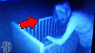 10 SCARY Things Caught on A Baby Monitor