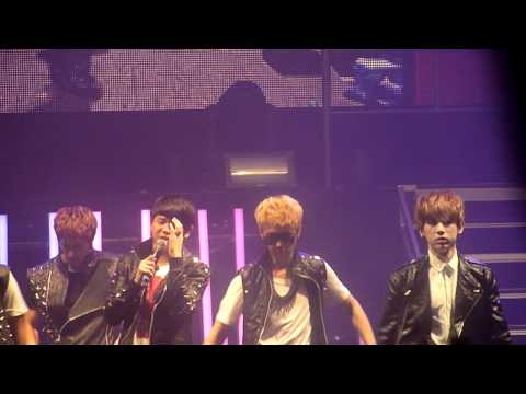 United Cube Concert in London 111205 - Fiction Full Perfomance