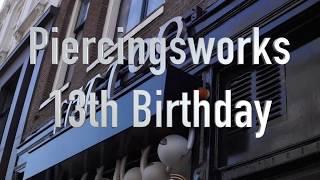 13 jaar - Piercings Works Amsterdam
