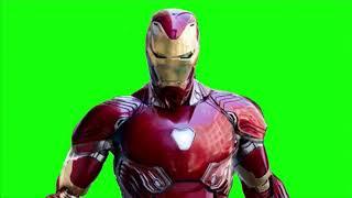 Green Screen Iron Man suit up 6  Iron Man Infinity War Suit