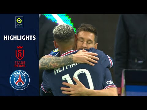 Reims PSG Goals And Highlights