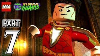 LEGO DC Super Villains Walkthrough PART 7 (PS4 Pro) No Commentary @ 1080p HD ✔