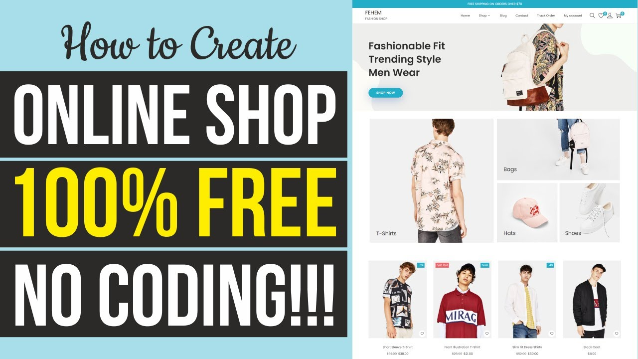 How to Create a FREE eCommerce Website with WordPress - ONLINE STORE Woostify Tutorial 2021