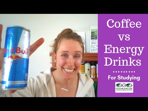 Coffee versus. Energy Drinks – The Outcomes Might Scare You