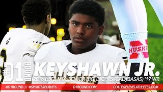 ALL HANDS: Keyshawn Johnson Jr. Senior WR Highlights (Calabasas) Nebraska Football Commit Mixtape
