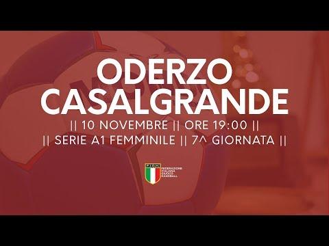 Serie A1F [7^]: Oderzo - Casalgrande Padana 33-24