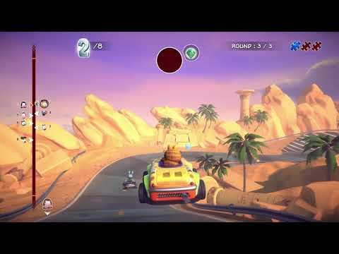Garfield Kart Furious Racing 2020 Gameplay Pc Youtube