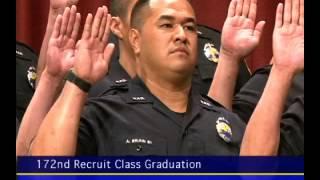 172nd Recruit Class Graduation