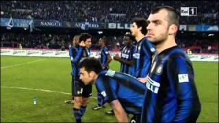 Rigori Napoli-Inter quarti di finale coppa Italia