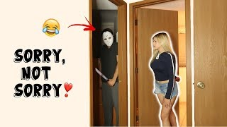 SCARING THE CRAP OUT OF MY GIRLFRIEND COMPILATION!! *SCARE CAM*