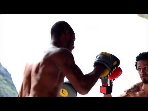 Boxe Jean Pierre e Djavan