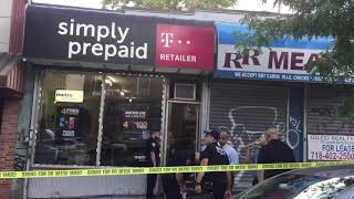 Man shot inside Cell Phone Store