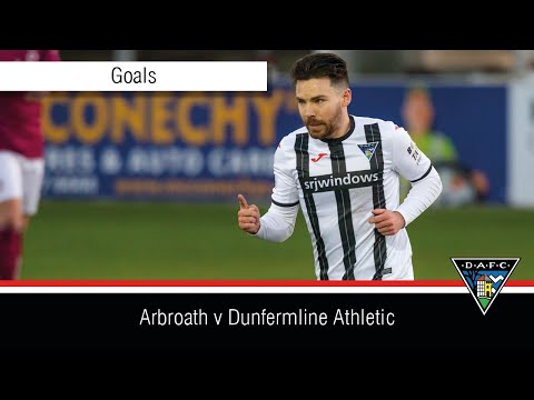Arbroath Dunfermline Goals And Highlights