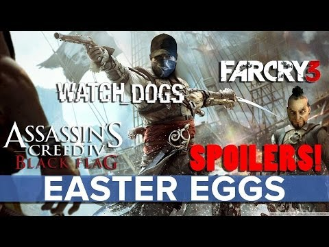 Assassin's Creed 4 - Watch Dogs And Far Cry 3 Easter Eggs - Eurogamer