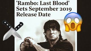 Download Rambo V Last Blood New Pictures Sylvester Stallone