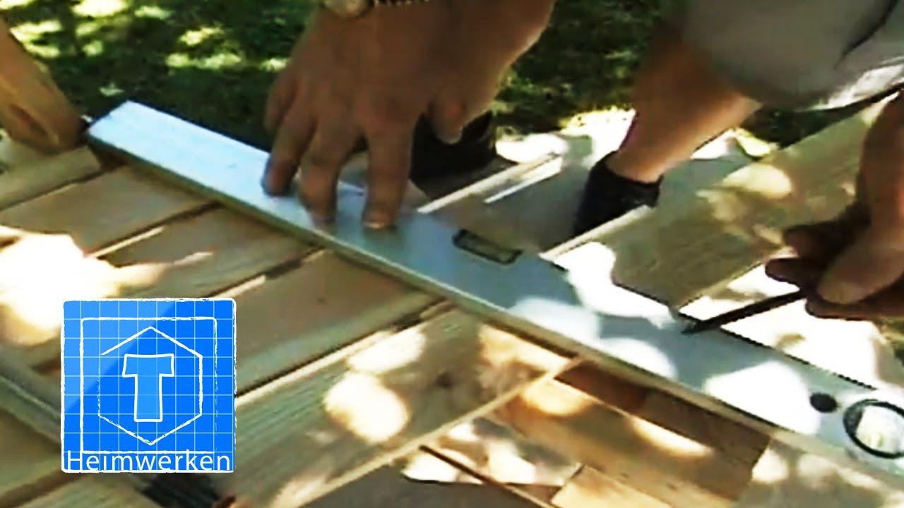 Bank Für Garten : bank selber bauen handwerker tipps f r den garten youtube ~ Watch28wear.com Haus und Dekorationen