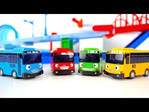 Тайо маленький автобус -  Роги на гоночной трассе