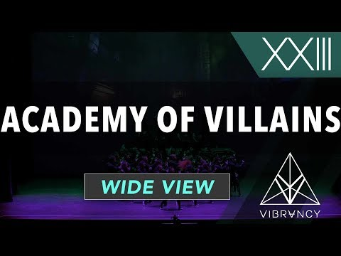Academy of Villains | VIBE XXIII 2018 [@VIBRVNCY Front Row 4