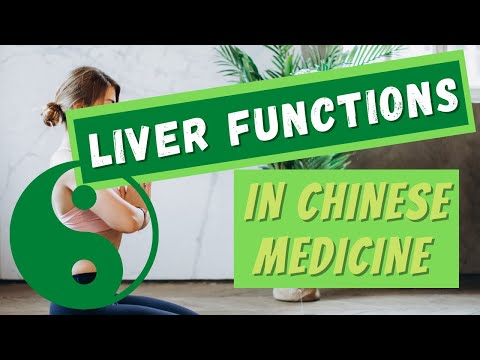 Liver Functions In Tcm Youtube