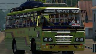 കർണാടക bus drive|karnatika bus drive|ets2