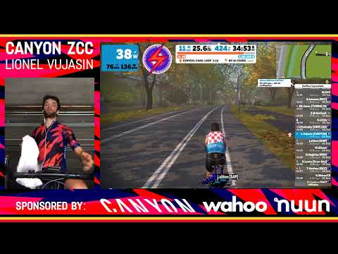 Zwift SRAM Send It Series #4 - NYC Lady Liberty