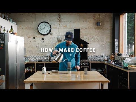 How I make coffee with the AeroPress