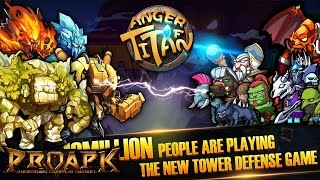 Age of Titans: War Gameplay IOS / Android