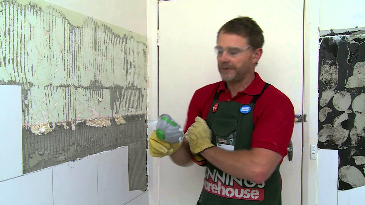 How To Remove Tiles Diy At Bunnings Youtube