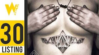 30 Beautiful Geometric Line And Dot Tattoos | LISTING #24